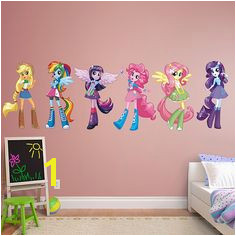 My Little Pony Equestria Girls Collection REAL BIG Fathead – Peel & Stick Wall
