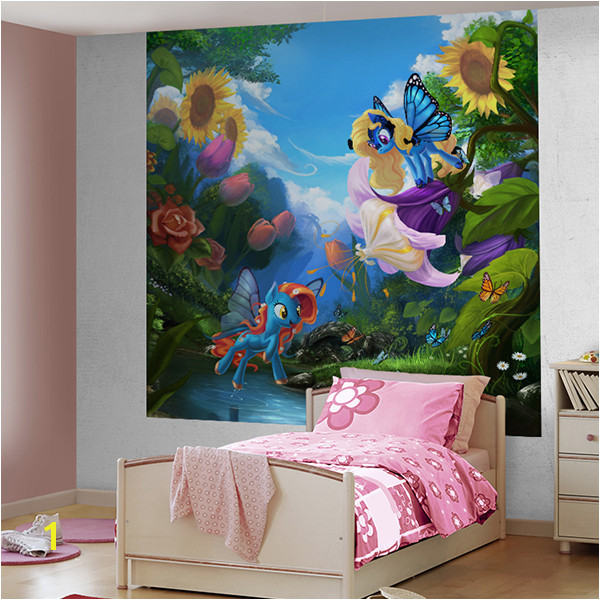 Wall Murals My little pony Flowers