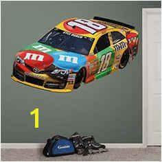 Kyle Busch 2013 M&M s Car NASCAR Wall Graphic by Fathead Kyle Busch Nascar