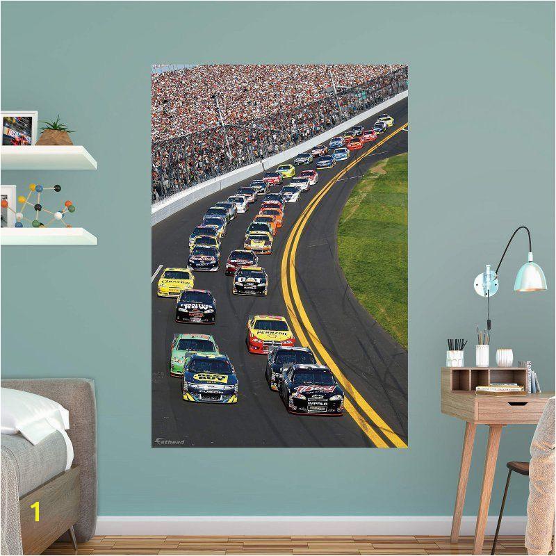Nascar Wall Murals Fathead Daytona International Speedway Pack Wall Mural 17