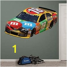 Kyle Busch 2013 M&M s Car NASCAR Wall Graphic by Fathead Kyle Busch Nascar