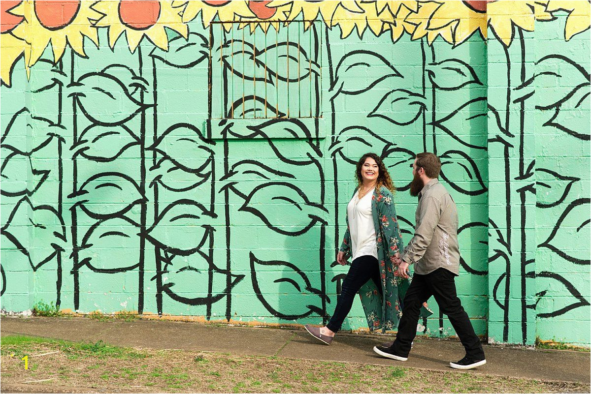A Downtown Nashville Mural Art Engagement Session Ivory Door Studio Blog•Ivory Door Studio Blog•