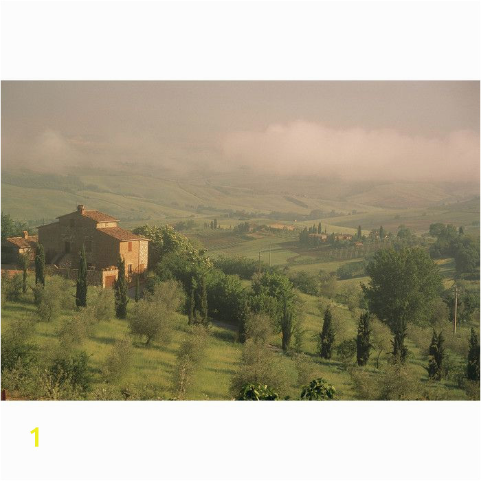 National Geographic Tuscan Farm Countryside Wall Mural