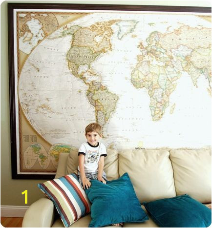 National Geographic Wall Murals This Wall Map is From National Geographic and Es In Three