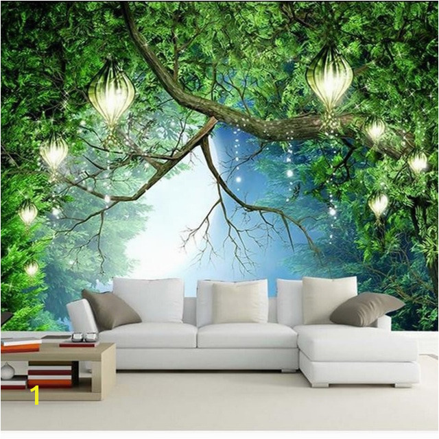 3D Wallpaper Beautiful Nature Scenery Fluorescent Mural Wall Paper Living Room Kids Bedroom Home Decor Papel De Parede 3D