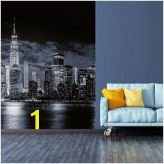 5108 4V 1 Fotomural Skyline of Manhattan Ideal Decor
