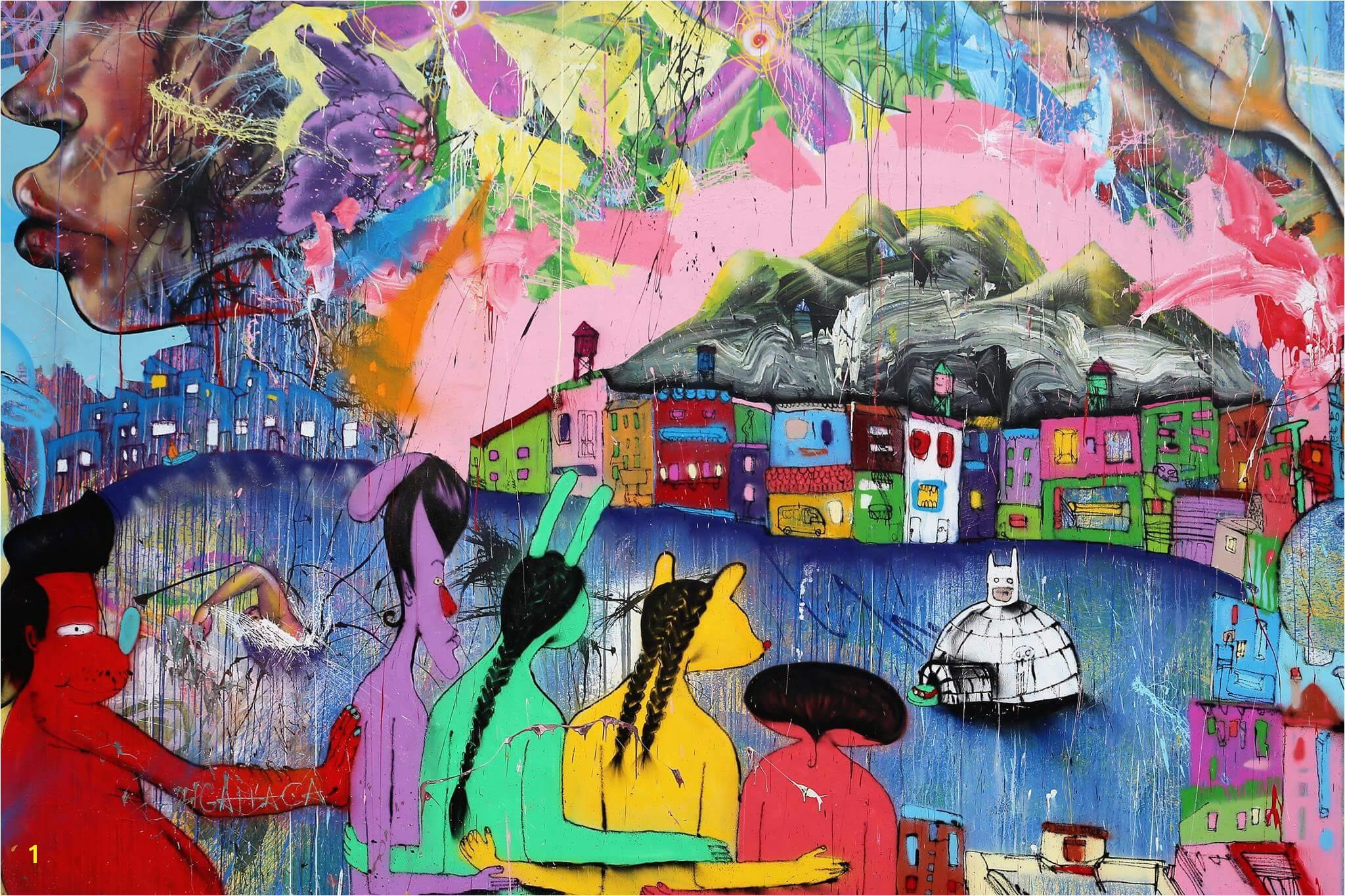 David Choe Houston Bowery Street Art Wall New York 2017 credit just a spectator