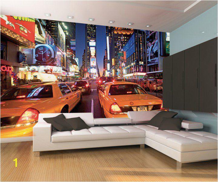 Wallpaper murals · Fototapeta Taxi New York