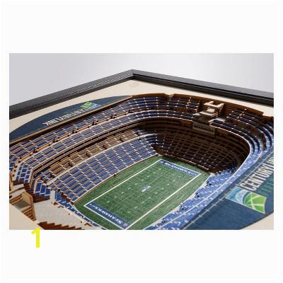 NFL Seattle Seahawks StadiumViews Wall Art Century Link Field