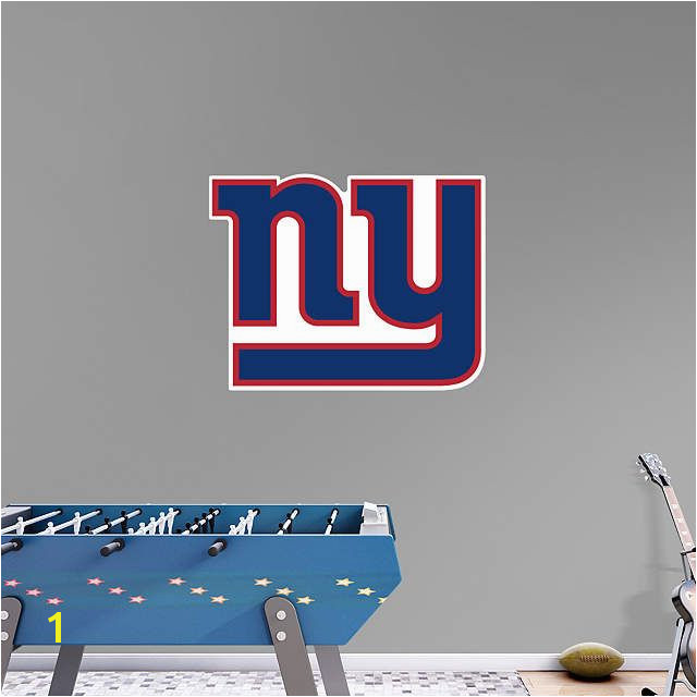 Explore New York Giants Logo Wall Decals and more
