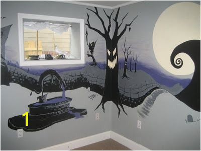 ArtSpace The Nightmare Before Christmas Mural