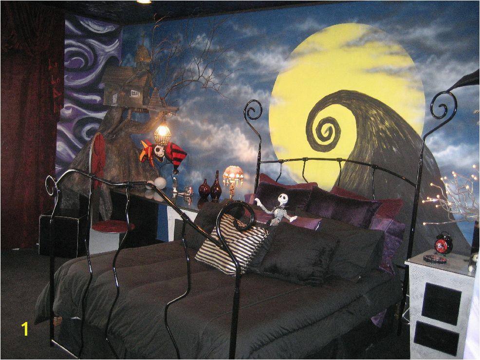 Nightmare before Christmas Wall Mural I Love This I Want A Nightmare before Christmas Room I Want
