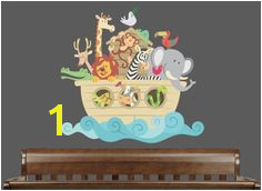 Noah S Ark Wall Mural Kit 22 Best Noah S Ark Nursery Images