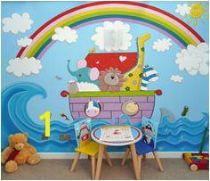 Noah s Ark Mural