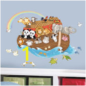 Noahs Ark Giant Wall Decals