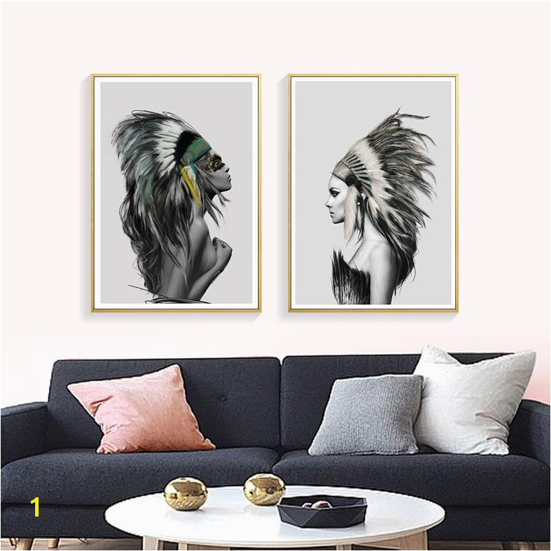 2019 Nordic y Nude Women Canvas Art Painting Prints Fashion Beauty Canvas Posters Home Decor Wall For Living Room CH012 From Aliceer