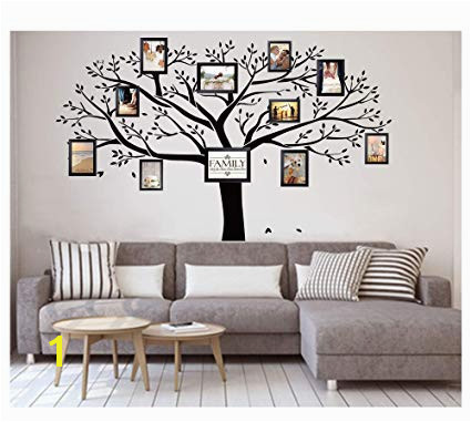 LUCKKYY Giant Family Tree Wall Decor Wall Sticker Vinyl Art Home Decals Room Decor Mural Branch Wall Decal Stickers Living Room Bed Baby Room