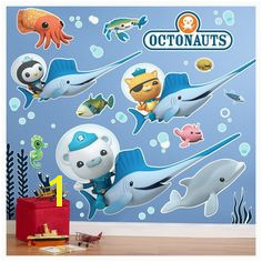 Octonauts Wall Decal