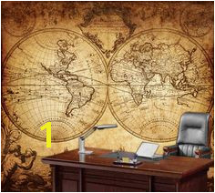 World map wall mural Vintage old map of the world by StyleAwall $384 00 Vintage Maps