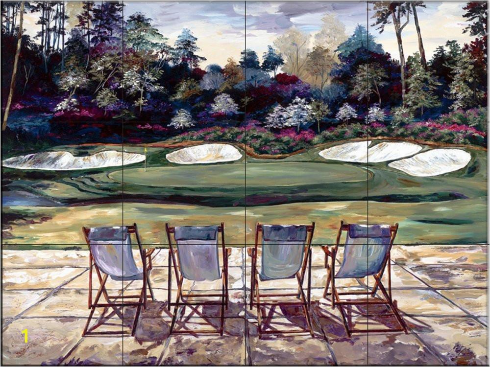 Outdoor Ceramic Tile Murals Ceramic Tile Mural Dream Green by Karen Stene Kitchen