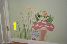Fairy Tale Mural The Frog Prince Detail Hand Painted Wall Murals
