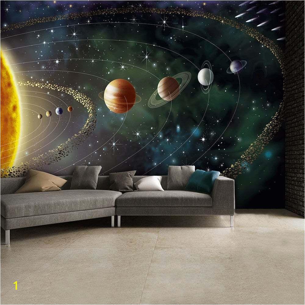 Outer Space Wall Mural Wallpaper Inn Store