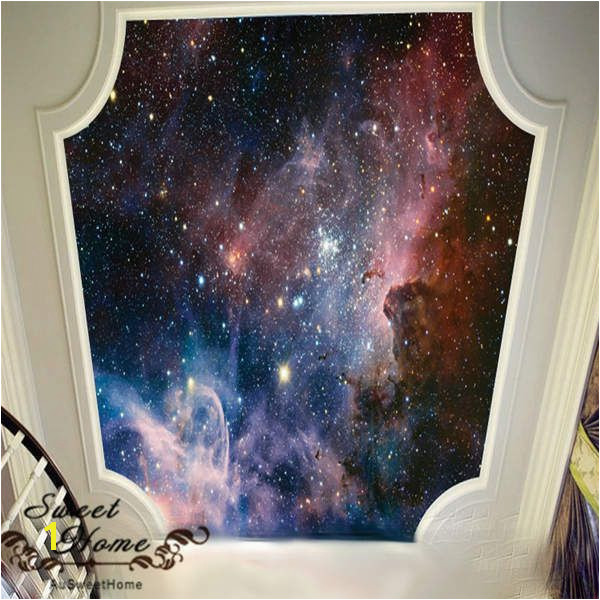 3D Nebula Outer Space Universe Wallpaper Full Wall Mural Printed Home Dec