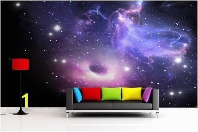 Bright Galaxy Wallpaper Wall Mural