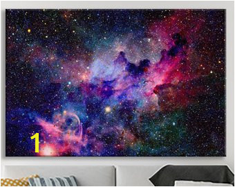 Space Wall Art Stretched Ready to Hang Wall Art