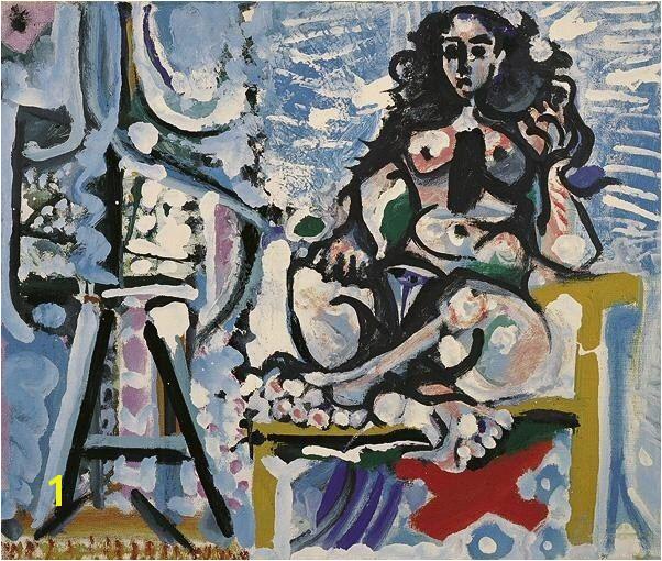 1965 Le mod¨le dans l atelier 3 Pablo Picasso