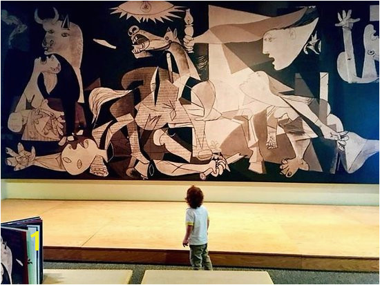 "Leepa Rattner Museum of Art ""Guernica"" by Pablo Picasso The"