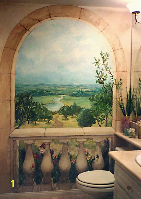 Cottage Garden Murals