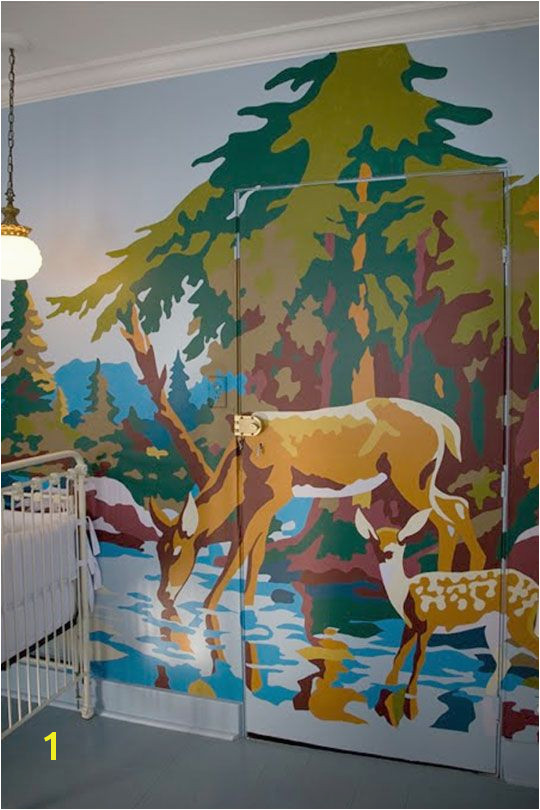 Paint by Number Mural Kits Cool Diy Paint by Numbers Wall Mural
