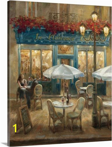 Cafe Em Paris Paris Street Home Wall Art Wall Art Decor Wall
