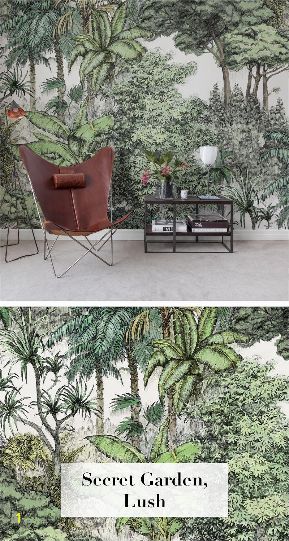 Urban jungle wallpaper