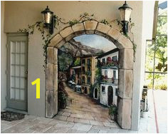 Door Wall Murals Design Some Creative Ideas of Outdoor Wall Murals Design Mural Painting Mural