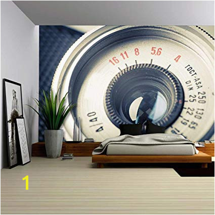 Re mendations Peel and Stick Wall Murals Cheap Beautiful Amazon Wall26 Close Up Old Camera Vintage