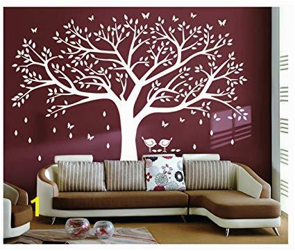 Bdecoll Tree Wall Sticker Art Diy Family Tree Wall Art Paper Removable Vinyl