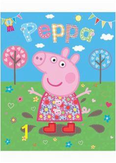 Peppa Pig Wall Mural 31 Best Peppa Pig Party Images