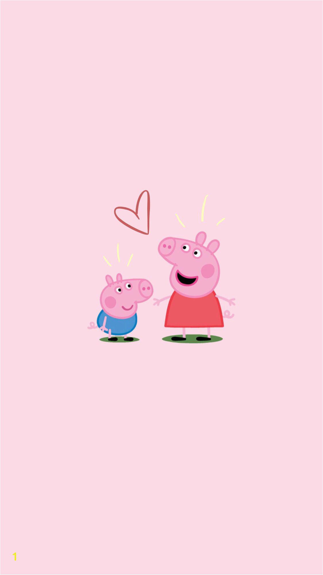 peppa pig wallpaper