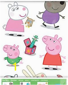 Peppa Pig Wall Mural Wall & Wallandwindow On Pinterest