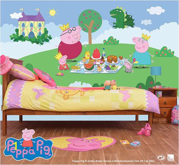 Peppa Pig Wall Mural Wall Mural Peppa Pig
