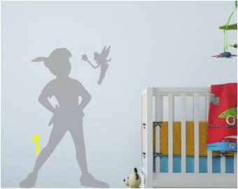 Peter Pan Shadow Wall Decal