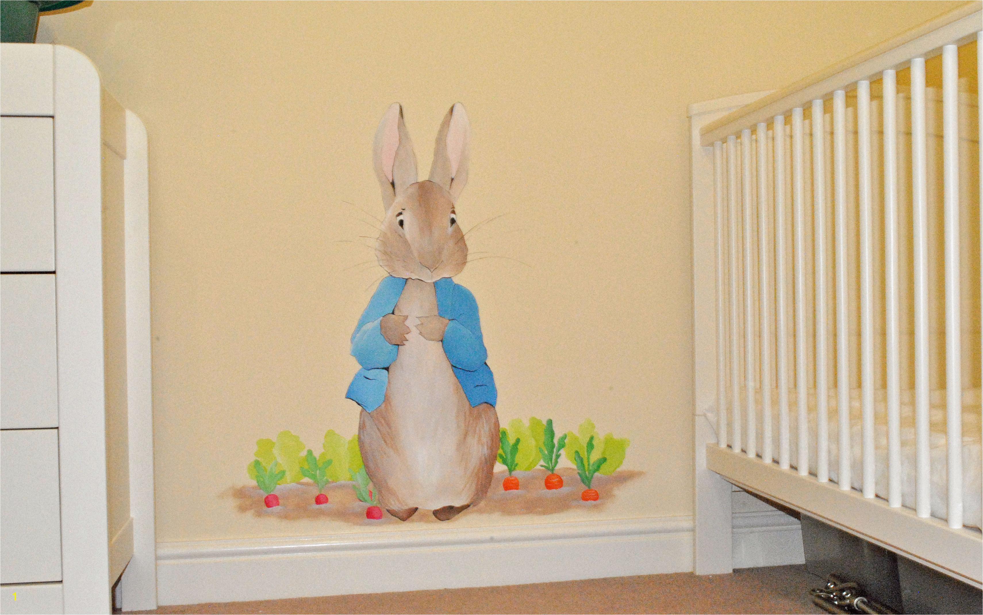 Peter Rabbit Wall Mural 1