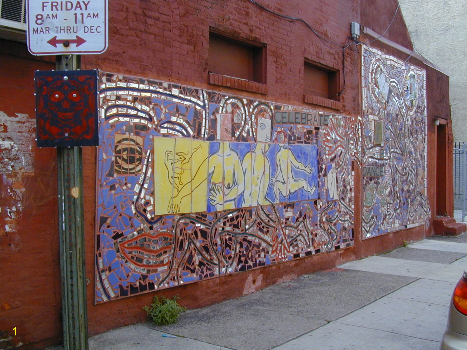 Philly Wall Murals Art Mosaic Mural south Philly Artzing Pinterest