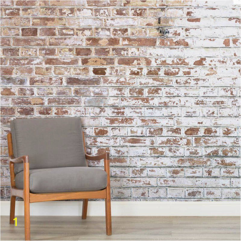 Realistic Brick Wall Murals & Brick Effect Wallpaper