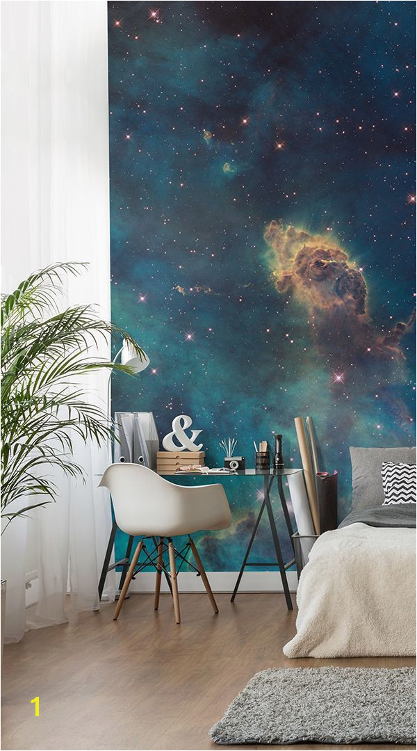 Photo Wall Murals Uk Stellar Jet Nebula Mural Wallpaper