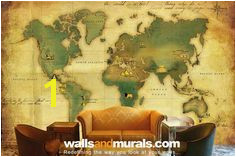 World map wallpaper designs for fice wall decor and custom wall murals for home decor Walls and Murals