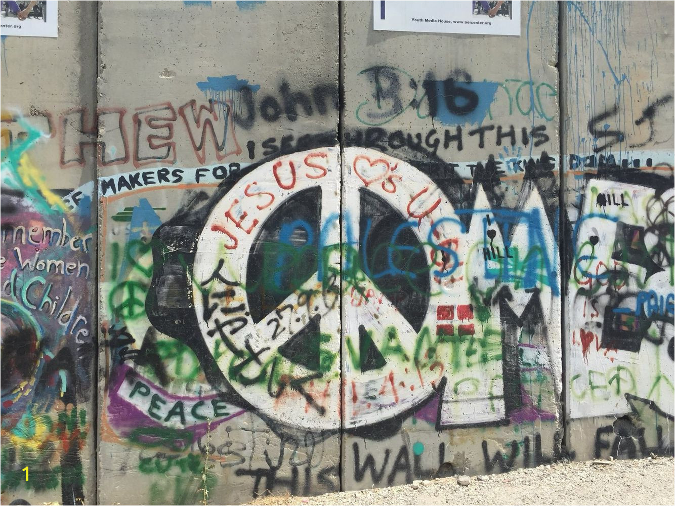 This wall will fal FreePalestine
