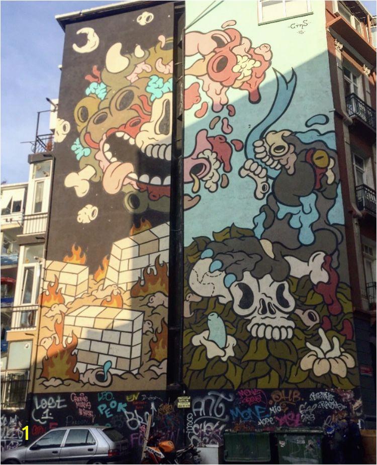 Murals of Kadikoy Istanbul